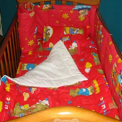 Garnitura completa pentru pat copii de la Mondocarp