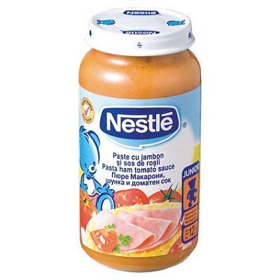 Paste cu jambon si sos de rosii 250 g