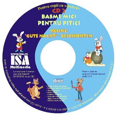 Basme mici pentru pitici CD 2 (romano-german)