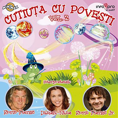 MediaPro Music CD Cutiuta cu povesti, nr. 2