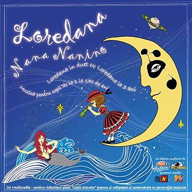CD muzical Loredana � nana nanino