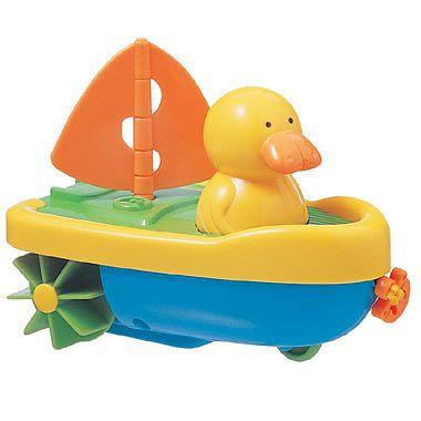 Tigex Jucarie pentru baie Capitain Duck