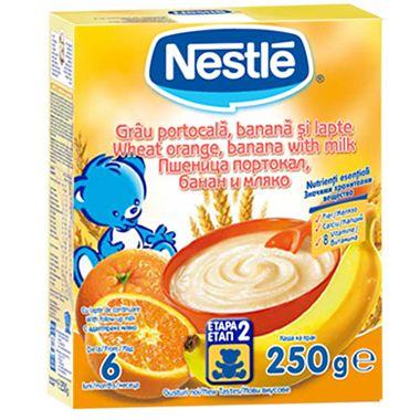 NESTLE Cereale Grau portocala, banana si lapte