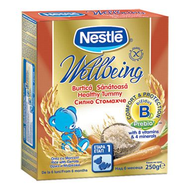 Cereale Nestle Burtica Sanatoasa 250 g