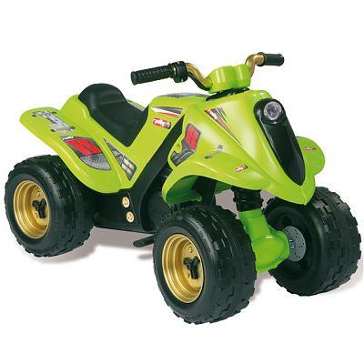 ATV cu acumulator Quad Boy verde 6V de la Smoby