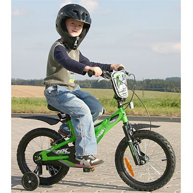 Kids bike KAWASAKI Dirt 16