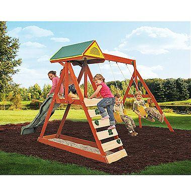 Sistem de joaca Parkside Play Centre de la Big Backyard