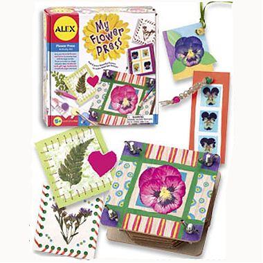 Alex Toys Kit de creatie cu presa de flori