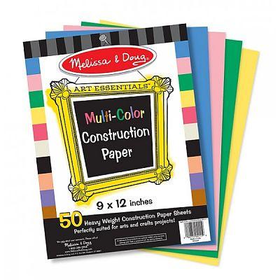 Melissa&Doug Hartie multicolora pentru proiecte de lucru manual