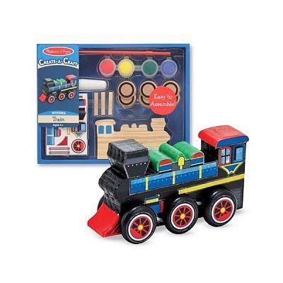 Decorati-va Locomotiva de la Melissa&Doug