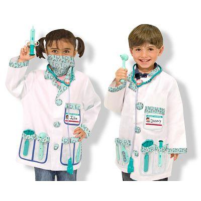 Costum carnaval copii Medic de la Melissa&Doug