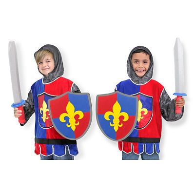 Costum carnaval copii Cavaler de la Melissa&Doug
