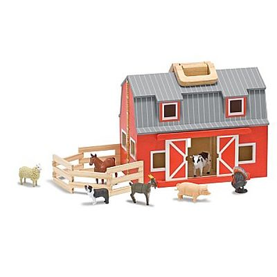 Grajd din lemn pliabil de la Melissa&Doug