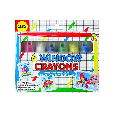 Culori pentru desen pe sticla de la Alex Toys