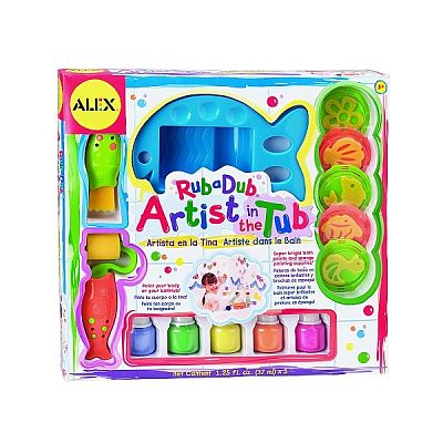 Set de pictura pentru baie de la Alex Toys