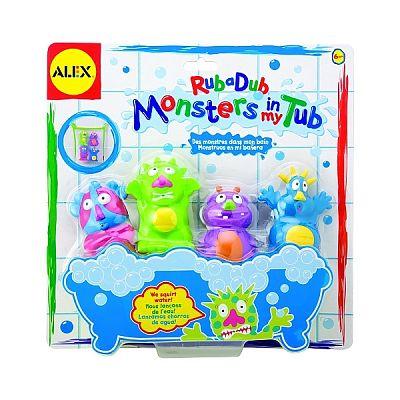 Alex Toys Monstruleti de baie