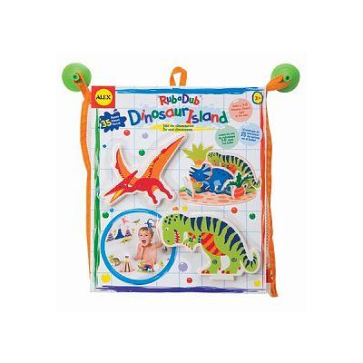 Alex Toys Insula cu dinozauri pentru baie