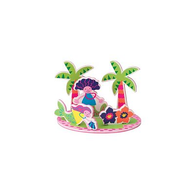 Jucarie de baie Insula paradisului