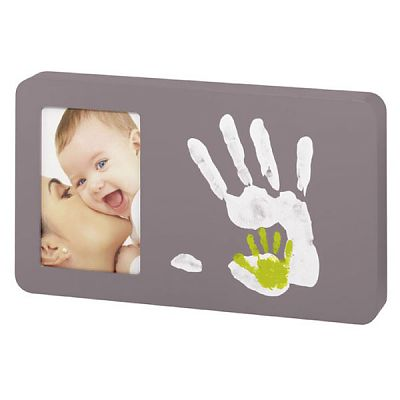 Baby Art Rama Duo Paint Print Taupe