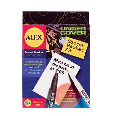Alex Toys Kit de spionaj pentru mesaje secrete