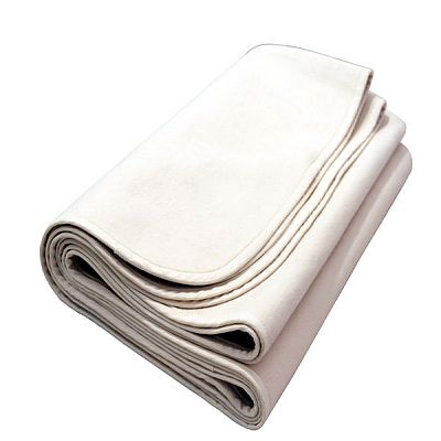 Naturalmat Protectie impermeabila din bumbac organic, 60x120