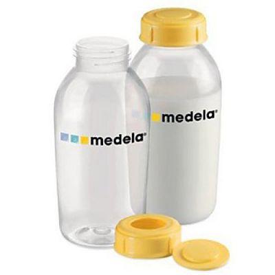 Set 2 biberoane pentru lapte matern, 250 ml
