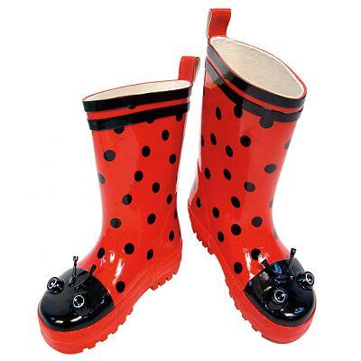Kidorable Cizmulite din cauciuc Ladybug
