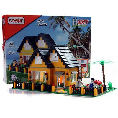 Cubix City: Casa de vacanta, 285 buc, 4ani+