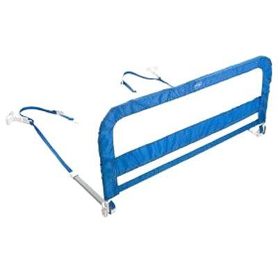 Protectie pliabila pentru pat, bleu