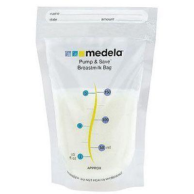Pump &Save -pungi de colectare lapte matern x20buc