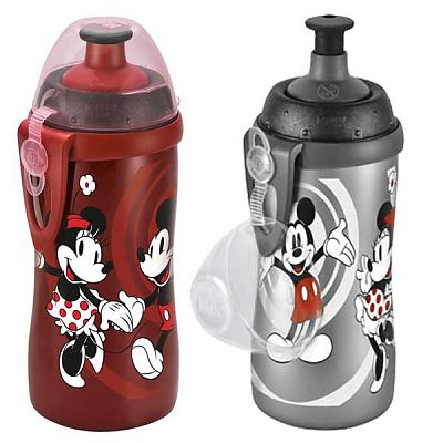 Biberon Mickey Mouse First Choice Junior Cup, cu adaptor de baut Push-Pull, 36+, 300 ml