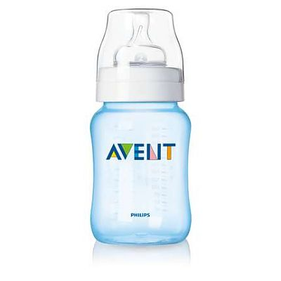 PHILIPS AVENT Biberon 260 ml, PP, bleu