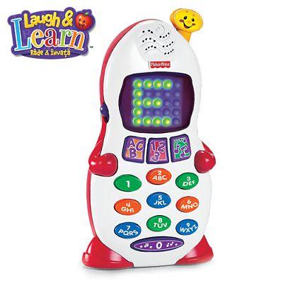 Fisher-Price L&L Telefonul Vorbitor