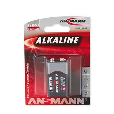 Baterie alcalina 9V 1buc /set de la Ansmann