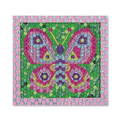 Set de creatie mozaic pe numere Fluture de la Melissa&Doug