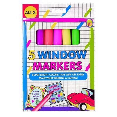 Markere pentru desen pe sticla de la Alex Toys