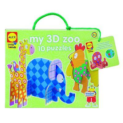Alex Toys Gradina mea zoologica 3D