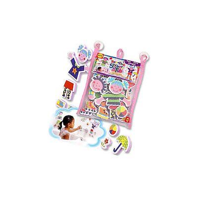 Stickere pentru baie Prieteni la joaca