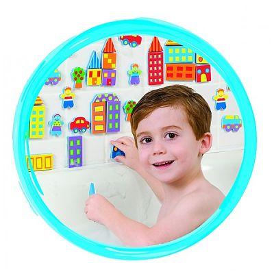 Alex Toys Stickere pentru baie - Orasul