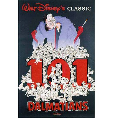 DVD One Hundred and One Dalmatians
