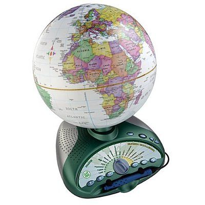 Glob pamantesc EXPLORER II de la LeapFrog