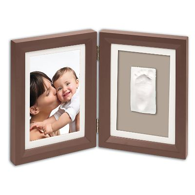 Rama - Print Frame Brown & Taupe/Beige