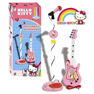 Set chitara si microfon Hello Kitty de la Reig Musicales