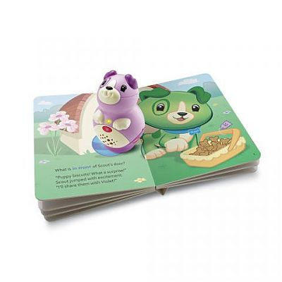 LeapFrog Sistem de citire TAG JUNIOR VIOLET