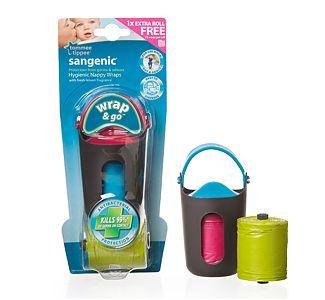 Tommee Tippee Dispozitiv Wrap & Go + 2 rezerve parfumate