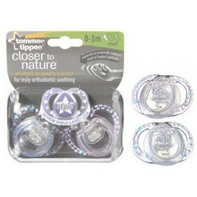 Tommee Tippee Suzete Style 0-3L x 2 buc