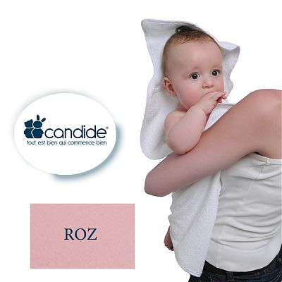 LICHIDARE STOC - Prosopel baie dimensiuni sporite (XXL) Candide ROZ