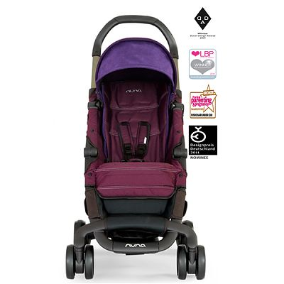 Nuna Carucior ultracompact PEPP Wineberry