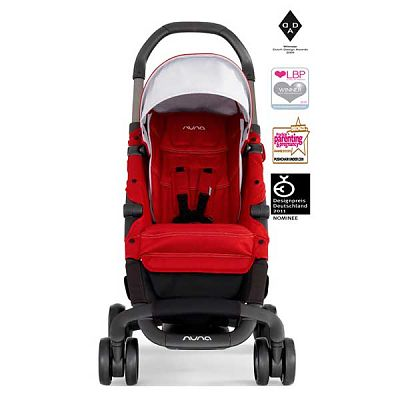 Carucior ultracompact PEPP Scarlet