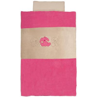 Lenjerie de pat pentru copii Lapidou Pink de la Nattou